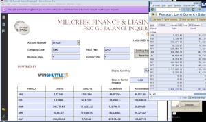 Streamlined FS10 GL Account Balance Display Form