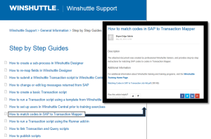 Winshuttle Support